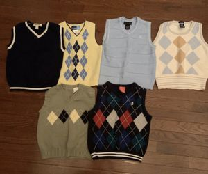 Little Boys Size 4-6T Sweater Vests for Sale in Dover, DE