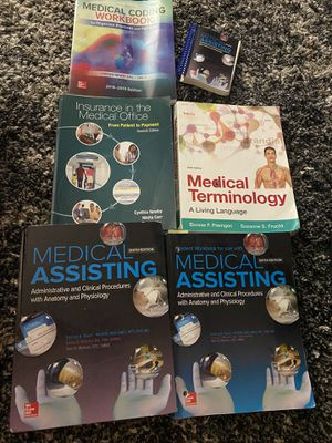 Medical assisting books for Sale in Seabrook, TX