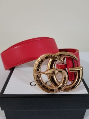 Mens Red Snake Belt for Sale in Los Angeles, CA
