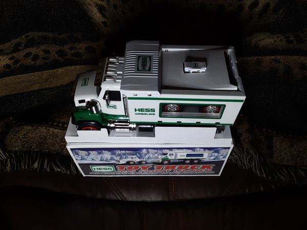 Collectible Hess Toy Truck and Front End Loader
