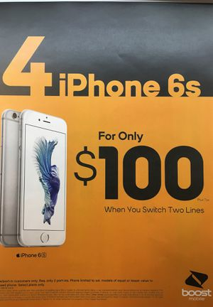 4 lines for 100 & 4 free phones for Sale in Orlando, FL