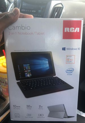 Brand New 2 in 1 Tablet/Notebook for Sale in Sterling, VA