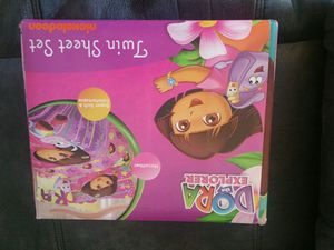 Dora twin size sheet set for Sale in OH, US