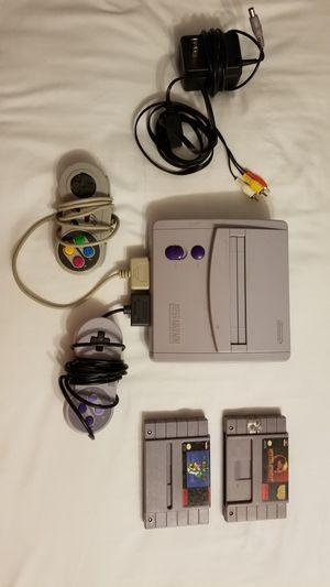 Super Nintendo SNES Mini Jr Console SNS-1 for Sale in Marietta, GA