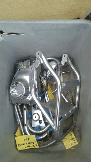 Harley Davidson misc parts box take all One price for Sale in Long Beach, CA