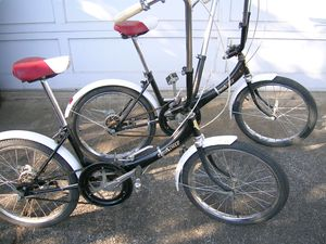 Rare Matched set Katakura Porta Cycle Silk folding Bicycle Bikes for Sale in Oregon City, OR