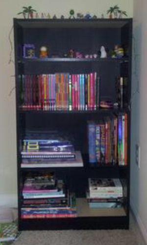 New!! 4 shelf Bookcase, bookshelves, organizer, decorative furniture, storage unit , black for Sale in Phoenix, AZ