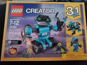 Lego Creator Robo Explorer for Sale in Huntington Beach, CA
