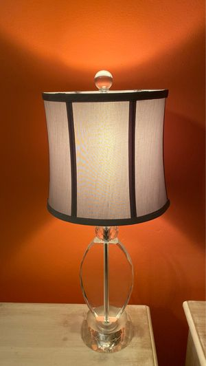 Glass Lamp for Sale in Chandler, AZ