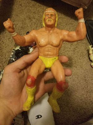 Hulk Hogan 1984 rubber action figure for Sale in Columbus, OH