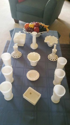 Milk Glass Collection for Sale in Murrells Inlet, SC