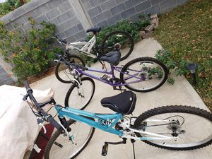 Bicycles for sale for Sale in Laredo, TX