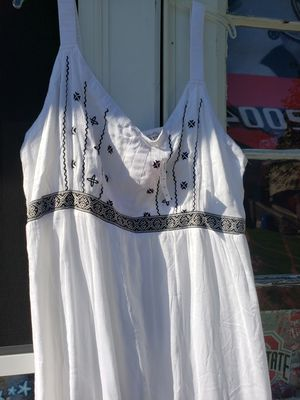 Womans plus size 26/28 3-4x long white dress for Sale in Columbus, OH