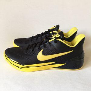 Nike Mens Size 11 Black Yellow Kobe AD Oregon Ducks Basketball Shoes NEW for Sale in Las Vegas, NV