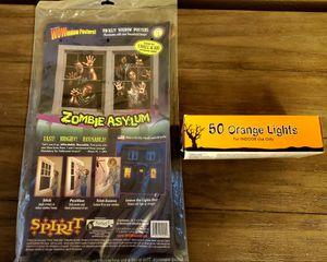 Halloween/Zombie Asylum window poster for Sale in Littleton, CO