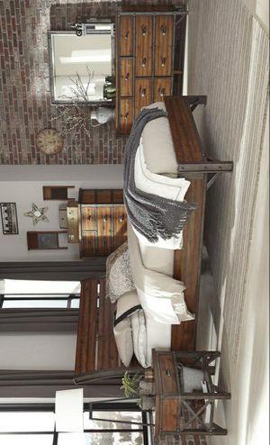 ☄Shock price☄Holverson Brown Platform Bedroom Set for Sale in Jessup, MD