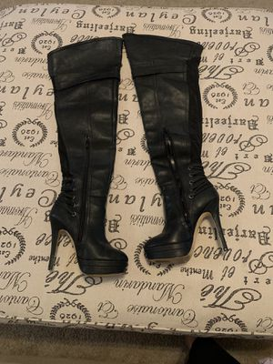 Steve Madden thigh high heel boots for Sale in Orlando, FL