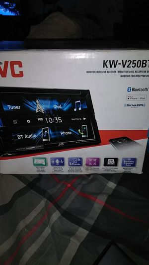 JVC MONITOR, DVD RECEIVER STEREO for Sale in Phoenix, AZ
