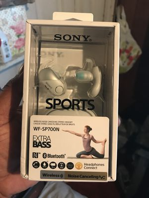 SONY sports wireless noise canceling stereo headset for Sale in Baltimore, MD