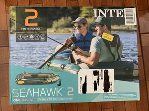 """Intex Seahawk 2 Two-Person Inflatable Boat, 93"""" x 45"""" x 16"""" for Sale in San Antonio, TX"""