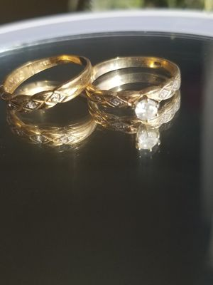 14k gold wedding ring size 7 for Sale in Fort Washington, MD