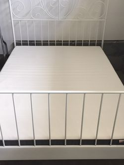 IKEA Full Size Bed Frame/mattress/mattress Topper for Sale in Estacada,  OR