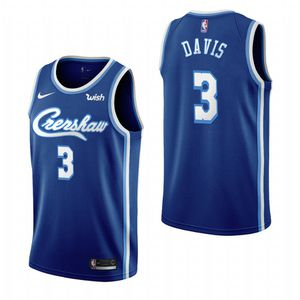Anthony Davis Crenshaw Edition Lakers Jersey for Sale in Los Angeles, CA