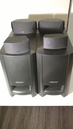 Bose CineMate and p 3-2-1 speaker system no cords for Sale in Columbus, OH