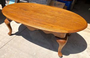Oak Coffee Table for Sale in Corona, CA
