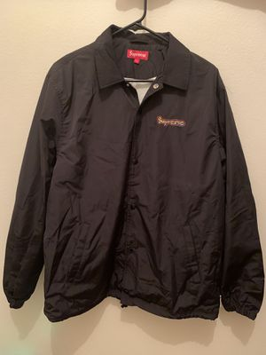 Supreme Gonz Logo Coaches Jacket (New) Size L for Sale in Denver, CO
