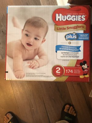 Huggies diapers for Sale in Spotswood, NJ