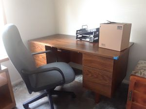 Desk and chair for Sale in Fife, WA