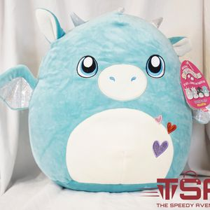 "Squishmallow Tatiana 12"" Valentine's Day 2021 Dragon Plush for Sale in Tumwater, WA"