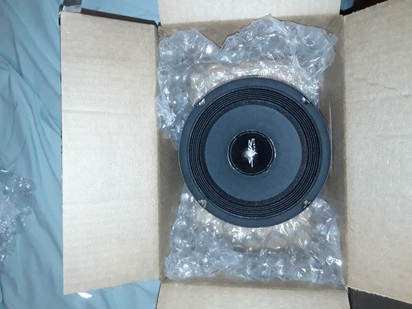 "1 only!! Skar Audio FSX65-4 6.5"" 300 Watt 4 Ohm Pro Audio Midrange Loudspeaker,"