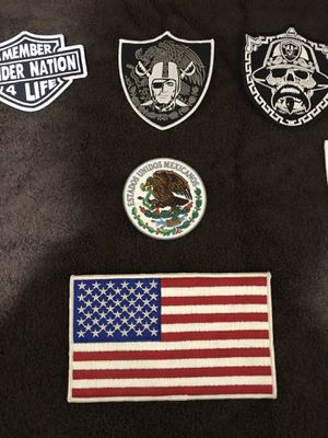 Raiders patch's for Sale in Lemoore, CA