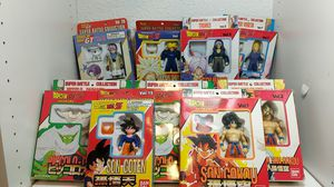 Dragon Ball Z Super battle collection Lot of 9 Figures - Vegeta, Trunks, Goku, Goten, Picolo for Sale in Seattle, WA