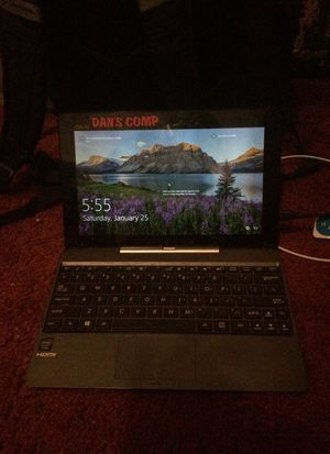 Asus laptop/tablet computer w/ windows 10 for Sale in Greene, NY