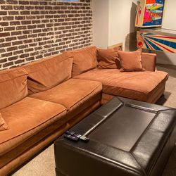 Couch With Chaise for Sale in Pittsburgh,  PA
