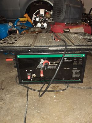 Frank Foundry table saw for Sale in Baltimore, MD