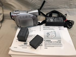 Canon camcorder- older model for Sale in Carlsbad, CA
