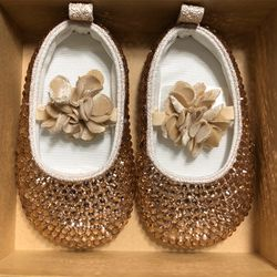 New Rhinestoned BabyShoes $35 each for Sale in Long Beach,  CA