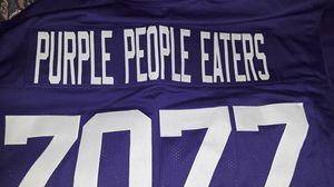 Vikings HOF customized jersey for Sale in Oakland, CA