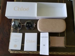 CHLOE CE117S-766-56 Sunglasses Size 56mm 135mm 20mm Gold for Sale in Glen Cove, NY