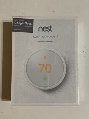 Google Nest Thermostat E T4000ES for Sale in Westminster, CA