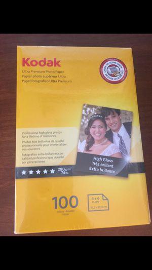 "Kodak Ultra Premium Photo Paper, 4"" x 6"", 100 sheets for Sale in Phoenix, AZ"
