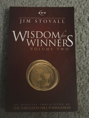Wisdom for Winners - Jim Stovall for Sale in FL, US