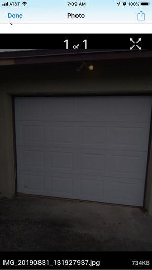 Garage door and opener for Sale in Clermont, FL
