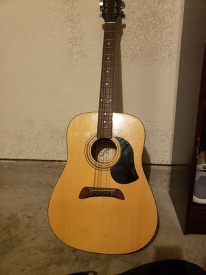 Guitar with bag for Sale in Fort Worth, TX