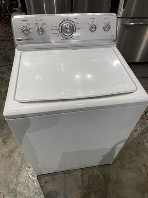 Kenmore washer heavy duty energy star works perfect clean 30 days warranty for Sale in Peabody, MA