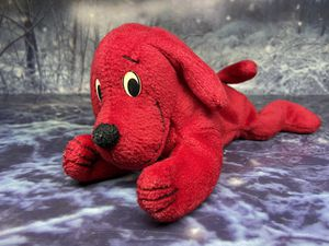"Scholastic Clifford The big red Dog Beanbag 8"" Plush for Sale in Bellflower, CA"